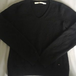 Tommy Hilfiger 100% Cashmere Small Black Sweater